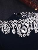preiswerte Hochzeit Schals-Strass / Aleación Tiaras / Kopfbedeckung / Haarnadel mit Blumig 1pc Hochzeit / Besondere Anlässe / Draussen Kopfschmuck