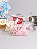 abordables Soportes para Regalo-Creativo Papel de tarjeta Soporte para regalo  con Pajarita Cintas Cajas de regalos Cajas de Regalos