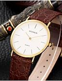 baratos Relógios Militares-Homens Relógio de Pulso Venda imperdível Couro Banda Amuleto / Fashion Preta / Marrom