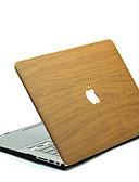 halpa MacBook tarvikkeet-MacBook Kotelo Wood Grain polykarbonaatti varten MacBook 12'' / MacBook 13'' / MacBook Air 11''