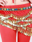 cheap Men's Swimwear-Belly Dance Hip Scarves Women's Performance Polyester Rhinestone Sequin Belt