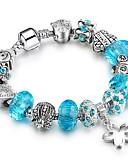 cheap Women's Nightwear-Women's Strand Bracelet - Friends Luxury, Stretch, Fashion Bracelet Purple / Blue / Pink For Christmas Christmas Gifts Wedding