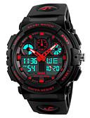 olcso Rozsdamentes acél-Intelligens Watch YYSKMEI1270 mert Hosszú készenléti idő / Vízálló / Több funkciós / Sportok Dugók & Töltők / Ébresztőóra / Kronográf / Naptár / Két időzóna