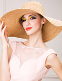 preiswerte Parykopfbedeckungen-Korbwaren Hüte mit Blume 1pc Hochzeit / Besondere Anlässe / Normal Kopfschmuck