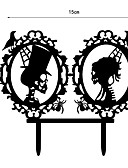 halpa Naisten mekot-Kakkukoristeet Religious Uskonto Muovi Erikoistilaisuus kanssa 1 PVC pussi