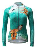 cheap Women's Coats & Trench Coats-Mysenlan Cycling Jersey Women's Long Sleeves Bike Jersey Top Bike Wear Quick Dry Breathable Fashion Cycling / Bike