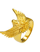 cheap Women's Nightwear-Men's Statement Ring / Ring - Copper, Gold Plated Eagle, Animal Basic, Punk, Rock 8 / 9 / 10 Gold For Christmas Gifts / Special Occasion / Halloween