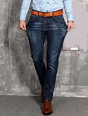 preiswerte Herren-Hosen und Shorts-Herrn Übergrössen Skinny Jeans Lässig Hose Solide