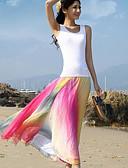 baratos Vestidos Femininos-Mulheres Boho Praia Balanço Saias Estampado