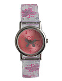 cheap Kids' Watches-Wrist Watch Japanese / Stainless Steel / Plastic Band Casual / Fashion Pink