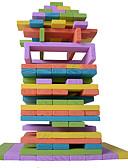 halpa Puhelimen kuoret-Rakennuspalikat Rakennuslelut Palikkatorni Lelut Neliö Tasapaino Puu Lasten Pieces