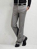 cheap Men's Tees & Tank Tops-Men's Basic Straight / Chinos Pants - Solid Colored / Work