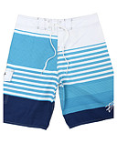 cheap Men's Swimwear-Men's Sporty Bottoms - Striped Print Board Shorts