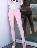 זול מכנסיים לנשים-מכנסיים אחיד סקיני יום יומי בגדי ריקוד נשים