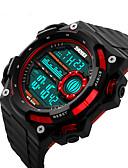 preiswerte Exotische Uniformen-Smartwatch YYSKMEI1115 für Langes Standby / Wasserdicht / Multifunktion / Sport Stoppuhr / Wecker / Chronograph / Kalender / Duale Zeitzonen
