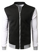 cheap Sport Watches-Men's Sports Cotton Jacket - Color Block / Long Sleeve