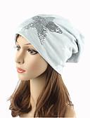 cheap Fashion Hats-Women's Headwear Cute Chic & Modern Knitwear Cotton Beanie / Slouchy Floppy Hat Sequins Print