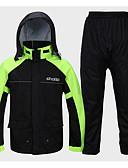 cheap Women's Pants-Motorcycle Raincoat Suit Walking Riding Wear Sunscreen Waterproof Split Raincoat Adult Poncho Jackets