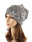 cheap Women's Hats-Women's Headwear / Chic & Modern / Knitwear Cotton Beanie / Slouchy / Floppy Hat - Striped Pure Color / Cute / Fall / Winter