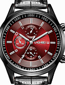cheap Dress Watches-Men's Wrist Watch Casual Watch Stainless Steel Band Casual / Fashion / Dress Watch Black / ETA 377A