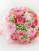 """baratos Véus de Noiva-Bouquets de Noiva Buquês Casamento Organza Cetim 12.2""""(Aprox.31cm)"""