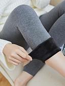 cheap Socks & Hosiery-Women's Medium Pantyhose, Cotton Nylon Solid 1pc Black Dark Gray Gray Light gray