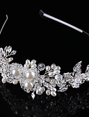 cheap Panties-Crystal / Imitation Pearl / Alloy Tiaras / Headbands with 1 Wedding / Special Occasion / Birthday Headpiece