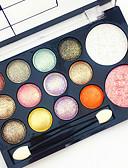 Χαμηλού Κόστους Αντρικές Μπλούζες με Κουκούλα & Φούτερ-Σκιές Ματιών Κοκκινίζω Πινέλα Μακιγιάζ Χωρίς Αμμωνία Χωρίς Φορμαλδεΰδη Μακιγιάζ Άνδρες Άνδρες και Γυναίκες Γυναικείο Ξηρό Ματ Λαμπύρισμα Αδιάβροχη Μακράς Διάρκειας Ικανότητα να αναπνέει 12 Χρώματα