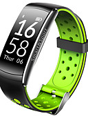 cheap Smart Activity Trackers & Wristbands-Sport Watch / Fashion Watch / Dress Watch for iOS / Android Heart Rate Monitor / Touch Screen / Alarm / Calendar / date / day / Water Resistant / Water Proof Stopwatch / Pedometer / Call Reminder