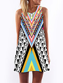 cheap Women's Dresses-Women's Holiday / Going out Loose Dress - Geometric