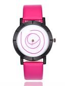 billige Digitale klokker-Herre Quartz Armbåndsur Kinesisk PU Band Fritid Mote Svart Hvit Blå Brun Grønn Rosa Gul Kaki Marine