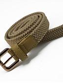 cheap Fashion Belts-Women's Dress Belt Alloy Skinny Belt - Solid Colored Fashion