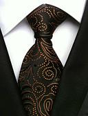 abordables Corbatas y Pajaritas para Hombre-Hombre Corbata - Trabajo Básico Estampado