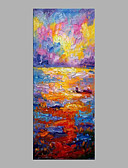 cheap Men's Underwear & Socks-Oil Painting Hand Painted - Landscape Abstract Canvas