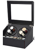 cheap Men's Watches-Watch Boxes Repair Tools & Kits Watch Winder Box leather Watch Accessories 30.5*24.5*17.5 2.0