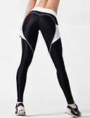 cheap Leggings-Women's Stitching Sporty Legging Color Block High Waist