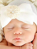 tanie Sukienki dla dziewczynek-Noworodek Chambray bawełna Akcesoria do futerka Biały / Rumiany róż / Jasnoniebieski Jeden rozmiar / Gumka do włosów