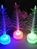 olcso Menyasszonyi ruhák-led akku lámpa 7 színváltó éjszakai íróasztal asztali teteje karácsonyfa dekoráció ünnepi party