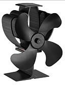 baratos Roupas de Banho Masculinas-Ventilador de estufa de 4 pás accionado por calor para lareira de gás de madeira lareira ventilador eco