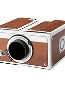 billige Modeure-CRT Hjemmebiografprojektor LED Projektor 3000lm Support 1080P (1920x1080) 20''-100'' Skærm / SVGA (800x600)