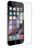 tanie Damskie szaliki-Ochrona ekranu na Jabłko iPhone 6s Plus / iPhone 6 Plus Szkło hartowane 1 szt. Folia ochronna ekranu Wysoka rozdzielczość (HD) / Twardość 9H / 2.5 D zaokrąglone rogi