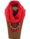 זול צעיפים לנשים-צעיף אינסופי - אחיד כותנה בגדי ריקוד נשים