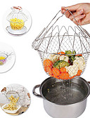 ieftine Tricou Bărbați-Ustensile de bucătărie Teak O noua sosire Strecurătoare & Filtru Pentru ustensile de gătit 1 buc