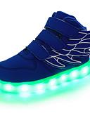 olcso Koktélruhák-Fiú Cipő Bőr Tavasz / Ősz Kényelmes / Újdonság / Világító cipők Tornacipők Átlátszó ragasztószalag / LED mert Piros / Zöld / Kék