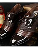 cheap Pocket Watches-Men's Comfort Shoes PU(Polyurethane) Spring / Fall British Oxfords Black / Brown / EU40