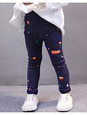 tanie Spodnie i getry-Brzdąc Dla dziewczynek Nadruk Spodnie