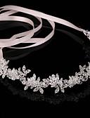 cheap Wedding Veils-Crystal / Alloy Headbands / Head Chain with 1 Wedding / Party / Evening Headpiece