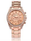 cheap Quartz Watches-Men's / Women's Fashion Watch / Wrist Watch Chinese Hot Sale Metal / Alloy Band Luxury Silver / Gold / Rose Gold