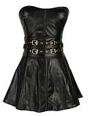 abordables Vestidos de Madrina-Mujer Cordones Corsé Superior / Vestido con Corsé - Un Color / Sexy