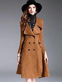 preiswerte Mantel & Trenchcoat-Damen - Solide Anspruchsvoll Street Schick Trench Coat